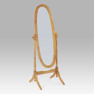 Výklopné oválné zrcadlo 20124 OAK, dub