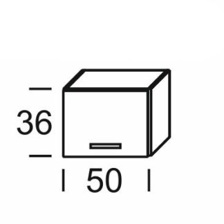 KAMDUO, digest. skříňka DUO WO5/36, dub sonoma