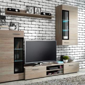Obývací stěna TYANGO, dub sonoma