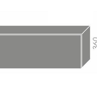 EMPORIUM, skříňka horní W4b 90, korpus: grey, barva: light grey stone