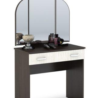 Toaletní stolek se zrcadlem BASIA CT-551, belfort/wenge
