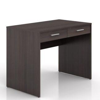 Psací stůl se šuplíky NEPO BIU2S, wenge