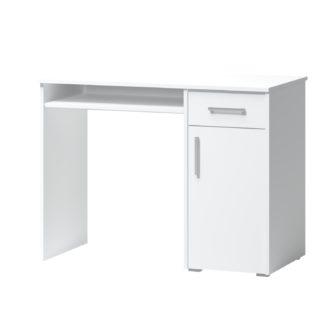 PC stůl ARTA 15, bílý mat