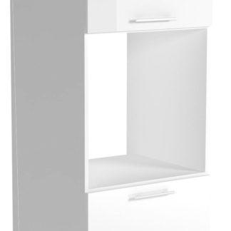 Dolní skříňka vysoká VENTO DP-60/214, dvířka: bílý lesk