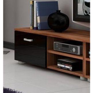 MAGIC, RTV stolek krátký, švestka/černý lesk