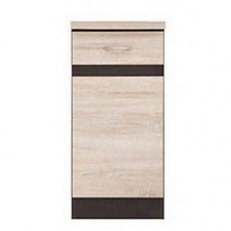 JUNONA LINE, skříňka dolní 40 cm, pravá,dub sonoma
