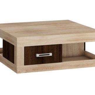 VERIN/02, konferenční stolek, dub sonoma/dub sonoma tmavý