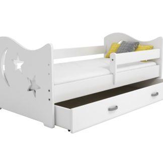 Dětská postel MIKI B1 80x160, bílá + barva čela: …