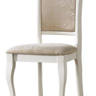 Dřevěná židle OP-SC2, bílá