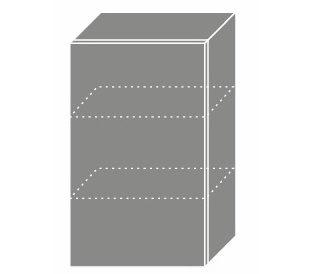 EMPORIUM, skříňka horní W2 45, korpus: lava, barva: light grey stone