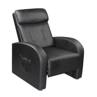 Relaxační masážní křeslo Toledo, hnědá