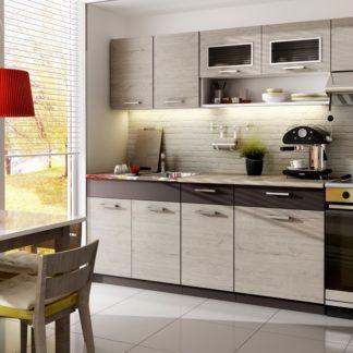 Kuchyně MORENO 260 cm, dub picard