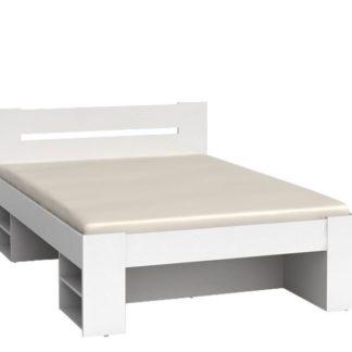 NEPO, postel LOZ3S 140x200 cm, bílá