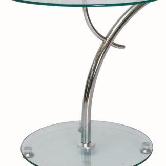 Konferenční stolek MUNA, sklo/chrom