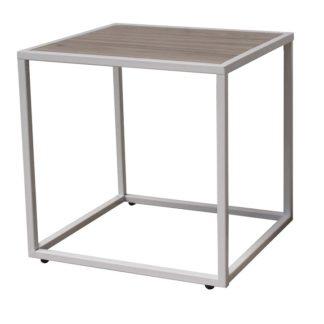 JAKIM 2 odkládací stolek, dub/bílá