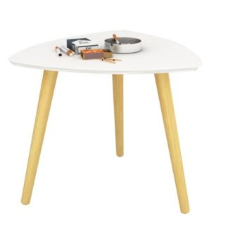 TAVAS odkládací stolek, bílá