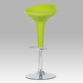 Barová židle zelená AUB-9002 LIM