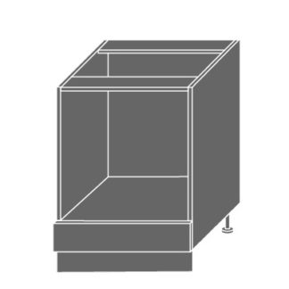 SILVER+, skříňka dolní D11k 60, korpus: grey, barva: latte