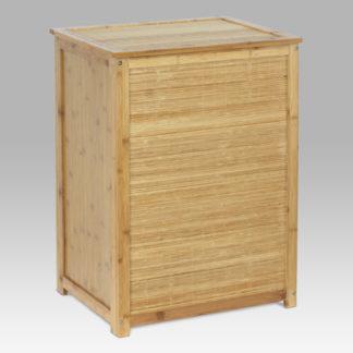 Koš na prádlo bambusový s látkovou vložkou DR-030
