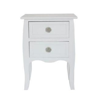 BRAIN 2 komoda/noční stolek, bílá