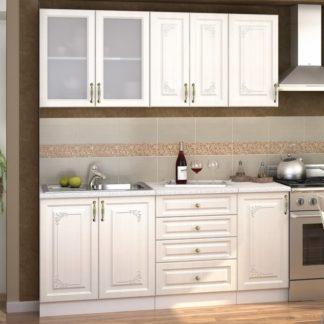 Kuchyně VICTORIE 180, bílý santál