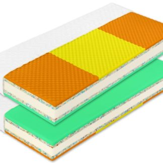 Matrace HEUREKA PLUS 80x200x20 cm, 1+1 ZDARMA