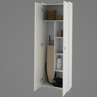 NATALI kombinovaná skříň, bílá, typ 6