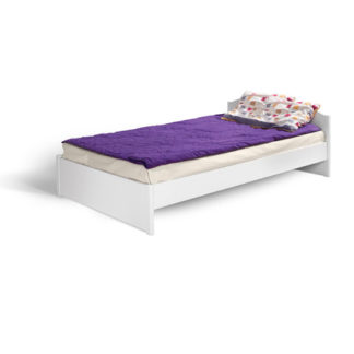 HAPPY, postel KR 120, bílá