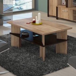 Konferenční stolek VECTRA 2, dub sonoma/dub sonoma tmavá