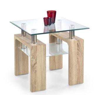 Konferenční stolek DIANA H KWADRAT, dub sonoma