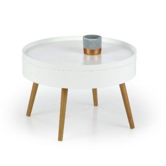 Konferenční stolek STARLET, bílý