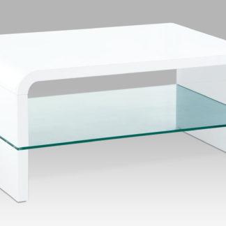 Konferenční stolek AHG-610 WT, bílý lesk