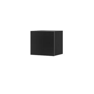CALABRINI malá závěsná skříňka, černá