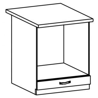 SYCYLIA, skříňka na vestavný spotřebič D60ZK, borovice andersen