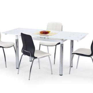 Jídelní stůl rozkládací L-31, bílý