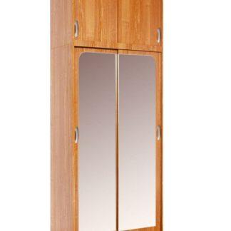 Šatní skříň IRENA se zrcadlem, barva: