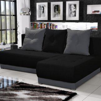 Rohová sedačka INSIGNIA 12, černá/šedá