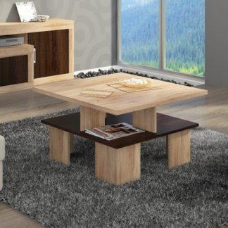 Konferenční stolek SUPRA 1, dub sonoma/dub sonoma tmavá