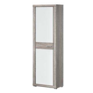 BERLINGO typ 01 šatní skříň, dub bardolino/bílá