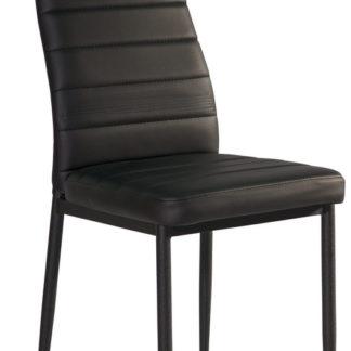 Jídelní čalouněná židle H-261C, černá
