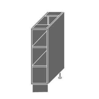 PLATINUM, skříňka dolní D15 O, jersey