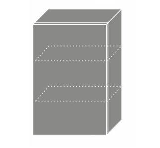 PLATINUM, skříňka horní W2 50, korpus: grey, barva: vanilla