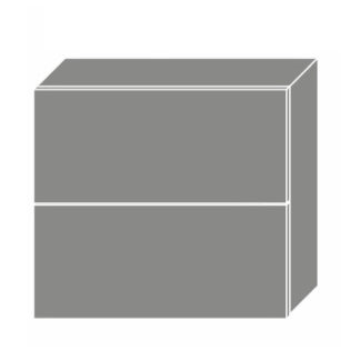 EMPORIUM, skříňka horní W8B 80 AV, korpus: lava, barva: light grey stone