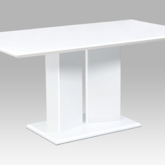 Jídelní stůl HT-307 WT, bílý mat