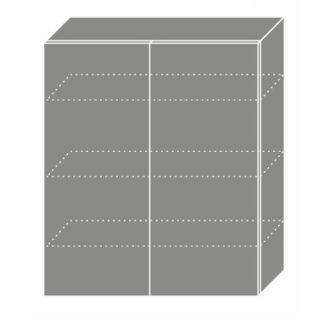 EMPORIUM, skříňka horní W4 80, korpus: lava, barva: light grey stone