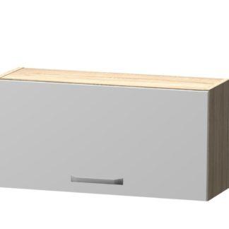 BORA horní skříňka H 60 NN, korpus dub bardolino/dvířka bílý lesk