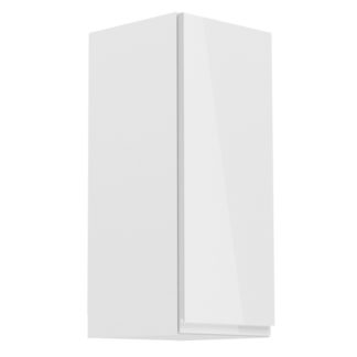 ASPEN, skříňka horní G30 pravá, bílá/bílý lesk