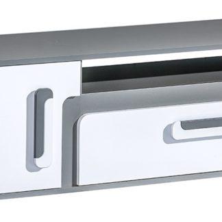 Tv stolek APETTITA 17, antracit/bílá