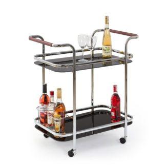 Barový stolek SBAR-7, černý