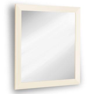 Obdelníkové zrcadlo MONIKA, béžový lesk